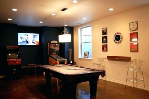 basement game rooms utah