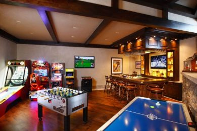 BASEMENT GAME ROOMS